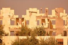 Ruinas constructivas después de la guerra Fotos de archivo