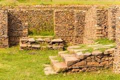 Ruinas de Aksum (Axum), Etiopía Imagen de archivo libre de regalías