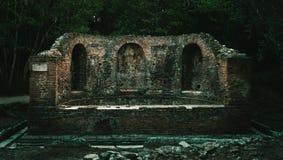 Ruinas de Ancien de Butrint Albania fotografía de archivo libre de regalías
