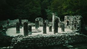 Ruinas de Ancien de Butrint Albania fotografía de archivo