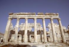 Ruinas de Apamea, Siria Fotos de archivo