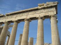 Ruinas de Atenas Imagen de archivo libre de regalías