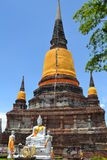 Ruinas de Ayutthaya Fotografía de archivo libre de regalías