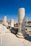 Ruinas de Beit She ' Foto de archivo