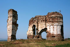 Ruinas de Bociulest fotos de archivo libres de regalías
