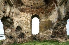 Ruinas de Bociulest Imagen de archivo
