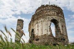 Ruinas de Bociulest imagenes de archivo