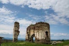 Ruinas de Bociulesti fotos de archivo