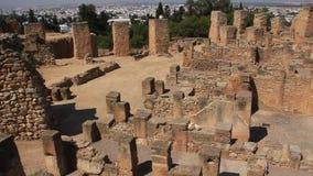 Ruinas de Cartago antiguo en Túnez