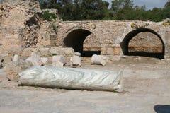 Ruinas de Carthage Imágenes de archivo libres de regalías