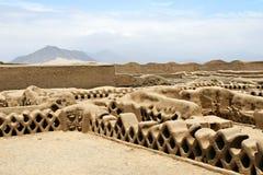 Ruinas de Chan Chan fotos de archivo libres de regalías