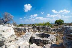 Ruinas de Chersonesos Foto de archivo