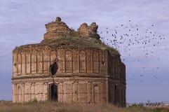 Ruinas de Chiajna Imagenes de archivo