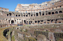 Ruinas de Colosseum Imagen de archivo