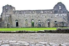 Ruinas de Cong Abbey, al oeste de Irlanda Fotos de archivo libres de regalías