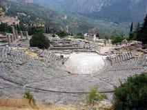 Ruinas de Delphi - Grecia Imagen de archivo