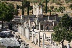 Ruinas de Ephesus Imagen de archivo libre de regalías