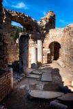 Ruinas de Ephesus Foto de archivo