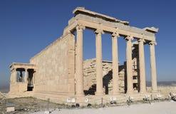 Ruinas de Erechtheion imágenes de archivo libres de regalías