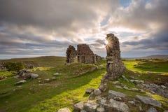 Ruinas de Foggintor Fotografía de archivo libre de regalías