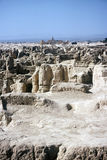 Ruinas de Gaochang, China Foto de archivo