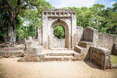 Ruinas de Gede Fotografía de archivo