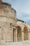 Ruinas de Hierapolis Foto de archivo libre de regalías