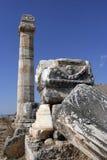 Ruinas de Hierapolis Fotografía de archivo libre de regalías