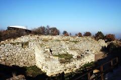 Ruinas de Hierapolis antiguo Foto de archivo libre de regalías