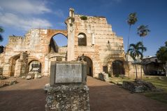 Ruinas de hospital san nicolas de bari Stock Photography
