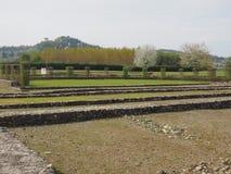 Ruinas de Industria en Monteu DA Po Imagen de archivo libre de regalías