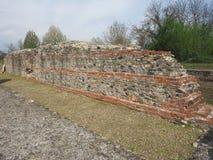 Ruinas de Industria en Monteu DA Po Foto de archivo