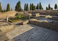 Ruinas de Italica, España Fotos de archivo