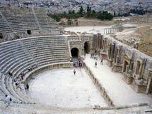 Ruinas de Jerash, Jordania Imagen de archivo libre de regalías