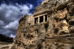 Ruinas de Jerusalén Foto de archivo libre de regalías