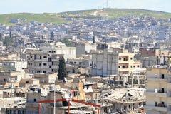 Ruinas de Kobane imágenes de archivo libres de regalías