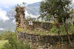 Ruinas de Kuelap imagenes de archivo