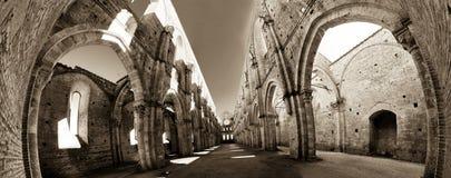Ruinas de la abadía Fotografía de archivo libre de regalías