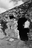 Ruinas de la abadía Imagen de archivo libre de regalías