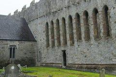 Ruinas de la abadía, Ardfert, Irlanda Imagen de archivo