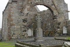 Ruinas de la abadía, Ardfert, Irlanda Foto de archivo
