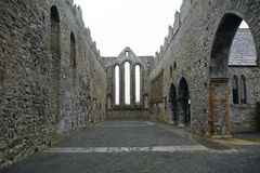Ruinas de la abadía, Ardfert, Irlanda Fotografía de archivo libre de regalías