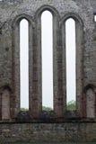 Ruinas de la abadía, Ardfert, Irlanda Imágenes de archivo libres de regalías