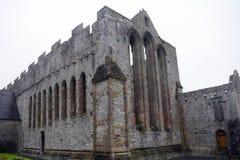 Ruinas de la abadía, Ardfert, Irlanda Imagen de archivo libre de regalías