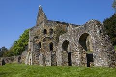 Ruinas de la abadía de la batalla en Sussex Fotos de archivo