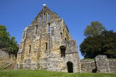 Ruinas de la abadía de la batalla en Sussex del este Fotografía de archivo libre de regalías