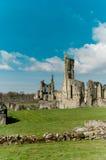 Ruinas de la abadía cisterciense Imagenes de archivo