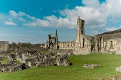 Ruinas de la abadía cisterciense Imagen de archivo libre de regalías