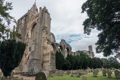 Ruinas de la abadía de Crowland, Inglaterra Foto de archivo libre de regalías