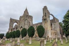Ruinas de la abadía de Crowland, Inglaterra Fotos de archivo